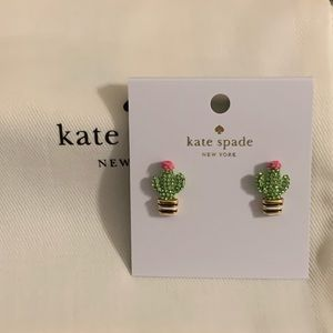 "NWT Kate Spade ""Scenic Route"" Cactus Earrings"